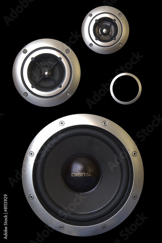 Three speakers