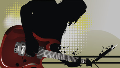 Guitar Vector Composition