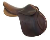 English style horse saddle poster