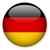 Fototapety German Flag button