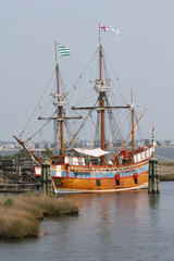 old english sailing ship