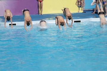 Synchronous jump