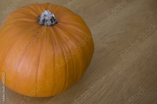 Orange Hallowe'en pumpkin