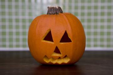 Still life of Jack'o Lanterns for Halloween