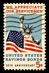 Servicemen -Savings Bonds Stamp