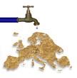 Sécheresse sur l'Europe
