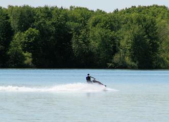 Jetski on the Lake