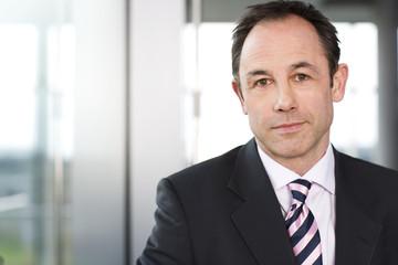 Portrait of a businessman in a suit