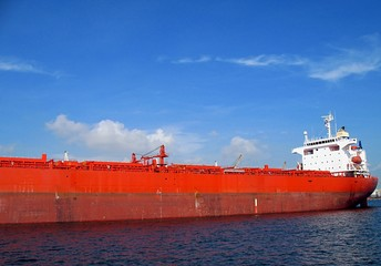 Massive Supertanker