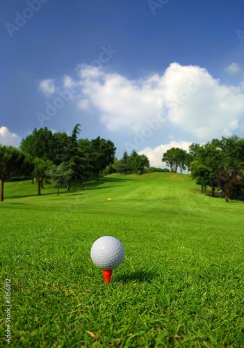 Papiers peints Individuel Golf course