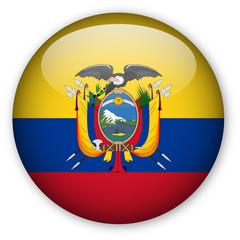 Ecuadorean Flag button