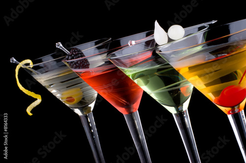 Foto op Aluminium Cocktail Classic martini - Most popular cocktails series