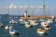 Leinwanddruck Bild - port d'erquy (france, bretagne)