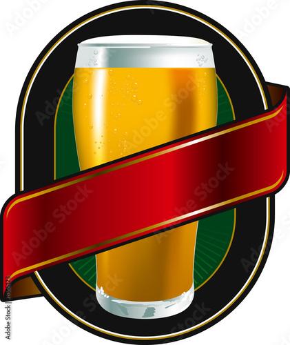 beer green label