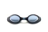 black goggles close-up poster