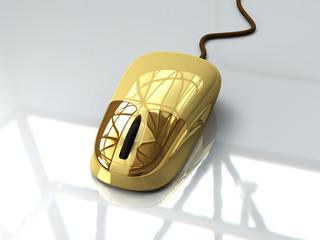 Goldene Maus
