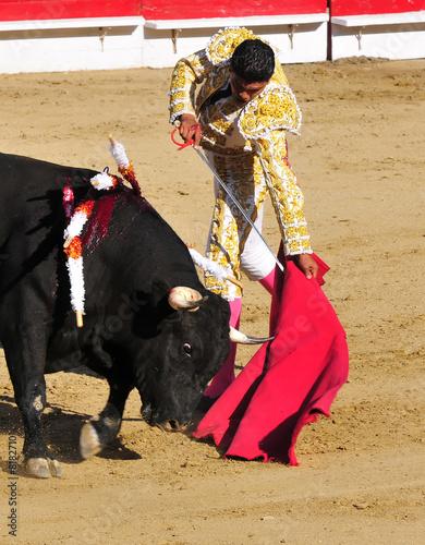 Aluminium Stierenvechten Matador & Bull