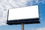 Fototapety Outdoor advertising billboard