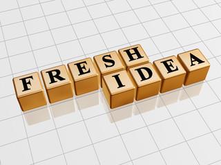 fresh idea - golden