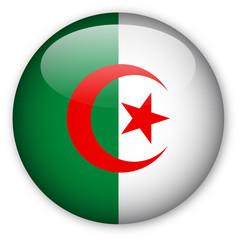 Algerian flag button