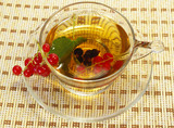 Currant and herbal tea poster