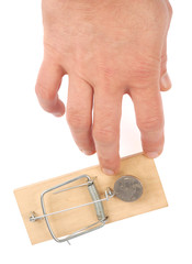 Hand and Mousetrap