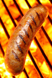 Fototapety Grilled Sausage