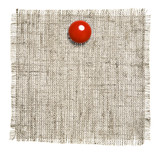 Textile Patch With Red Clip poster