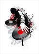 dj mix - red