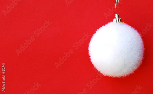 poster of white fluffy bauble