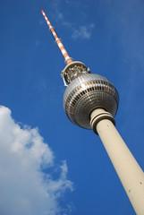 Berlin - Fernsehturm - Alexanderplatz