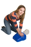 CPR Training poster