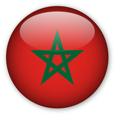 Moroccan flag button