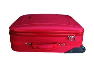 Red Carry on Suitcase
