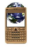 Global telecommunications poster
