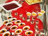 festtagsbüffet,nachtisch,bankett gastronomie,weihnachten poster
