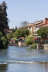 Village de L'isle sur La Sorgue
