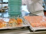 profikoch bereitet sushi teller,bankett,gastronomie poster