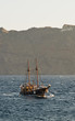 Tourist sailboat returning to harbour