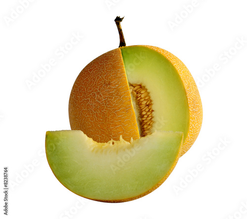 sliced melon