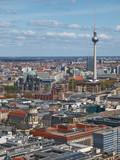 Fototapety berlin von oben,luftaufnahme,alexanderplatz,gendarmenmarkt