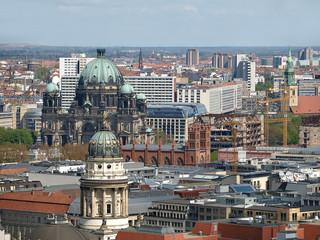 berlin mitte von oben,luftaufnahme,berlinerdom,gendarmenmarkt