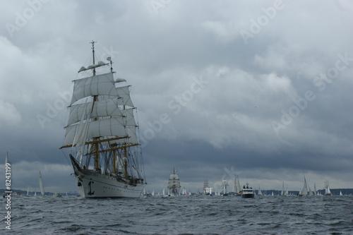 Gorch Fock - Flaggschiff Windjammer-Parade