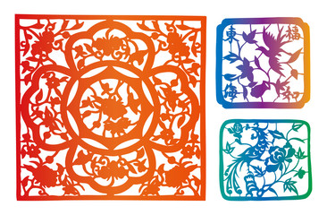 paper-cut set twenty-five