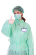 successful healthcare worker