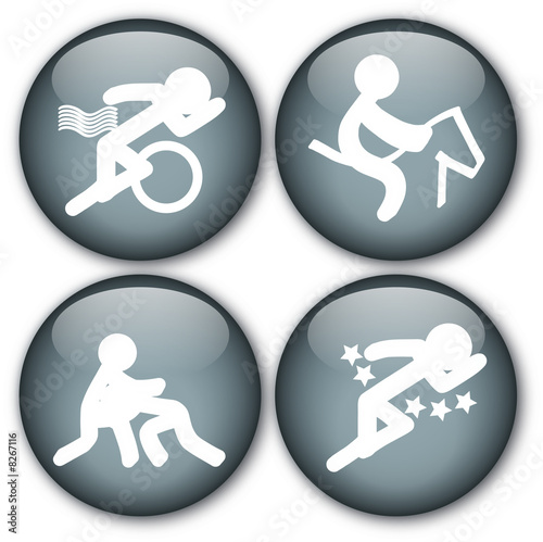 Sports button (Triathlon/Equestrian/Wrestling/Pentathlon)