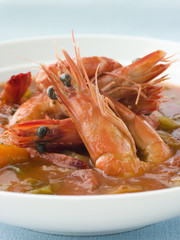 Bowl of Creole Shrimp Gumbo