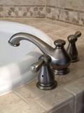 Luxury Bathtub Faucet side view poster