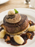 Tournedos of Beef with Cocotte Potatoes