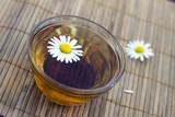 Cup of herbal tea poster